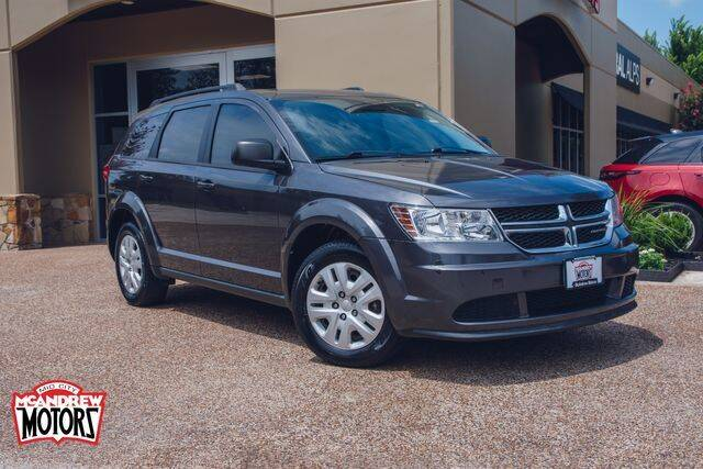 2014 Dodge Journey for sale at Mcandrew Motors in Arlington TX
