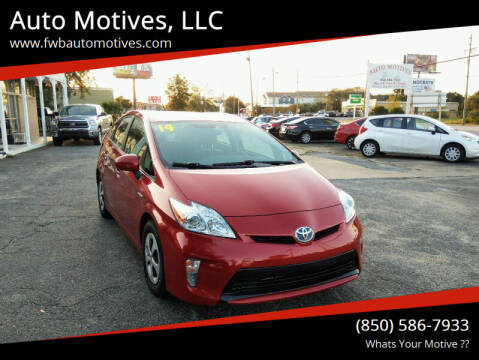 2014 Toyota Prius for sale at Auto Motives, LLC in Fort Walton Beach FL