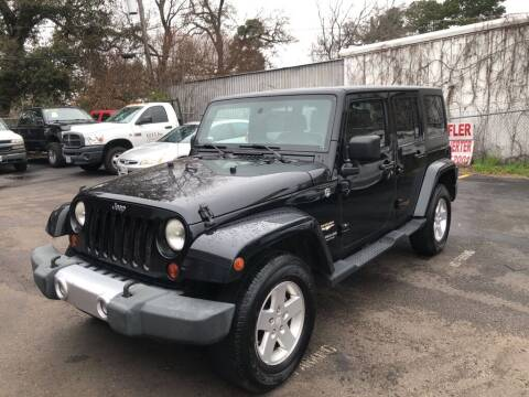 2008 Jeep Wrangler Unlimited for sale at 4 Girls Auto Sales in Houston TX
