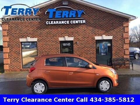 2017 Mitsubishi Mirage for sale at Terry Clearance Center in Lynchburg VA