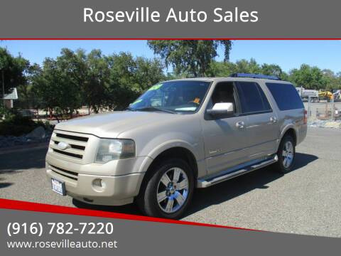 2007 Ford Expedition EL for sale at Roseville Auto Sales in Roseville CA