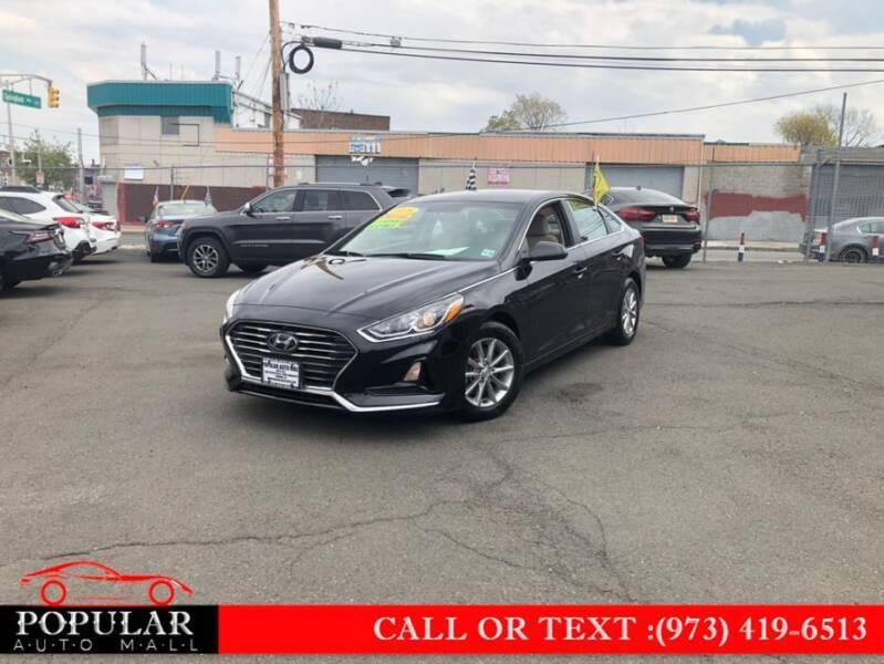 2018 Hyundai Sonata for sale at Popular Auto Mall Inc in Newark NJ