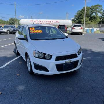 2012 Chevrolet Sonic for sale at Auto Bella Inc. in Clayton NC
