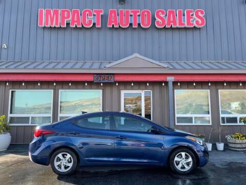 2015 Hyundai Elantra for sale at Impact Auto Sales in Wenatchee WA