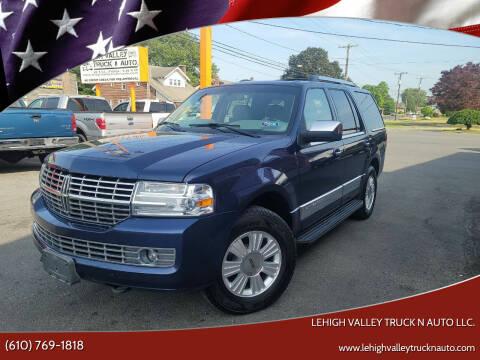 2008 Lincoln Navigator for sale at Lehigh Valley Truck n Auto LLC. in Schnecksville PA