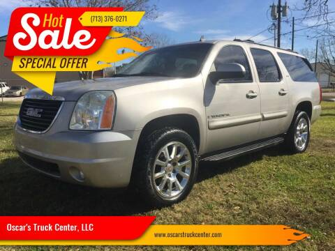 2007 GMC Yukon XL for sale at Oscar's Truck Center, LLC in Houston TX