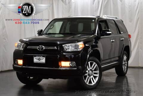 2012 Toyota 4Runner for sale at ZONE MOTORS in Addison IL