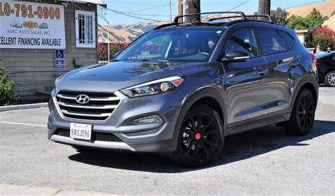 2017 Hyundai Tucson for sale at AMC Auto Sales, Inc. in Fremont CA