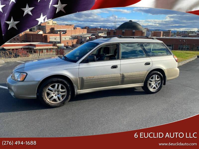 2003 Subaru Outback for sale at 6 Euclid Auto LLC in Bristol VA
