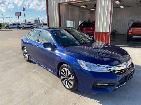 2017 Honda Accord Hybrid for sale at SCOTT LEMAN AUTOS in Goodfield IL
