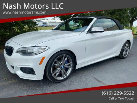 2015 BMW 2 Series for sale at Nash Motors LLC in Hudsonville MI