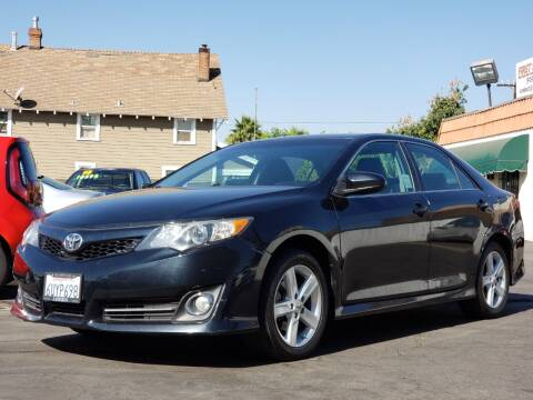 2012 Toyota Camry for sale at First Shift Auto in Ontario CA