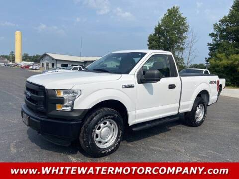 2016 Ford F-150 for sale at WHITEWATER MOTOR CO in Milan IN