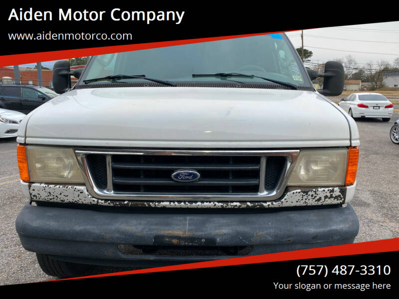 2006 Ford E-Series Cargo for sale at Aiden Motor Company in Portsmouth VA