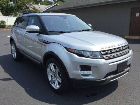 2012 Land Rover Range Rover Evoque for sale at International Motor Group LLC in Hasbrouck Heights NJ