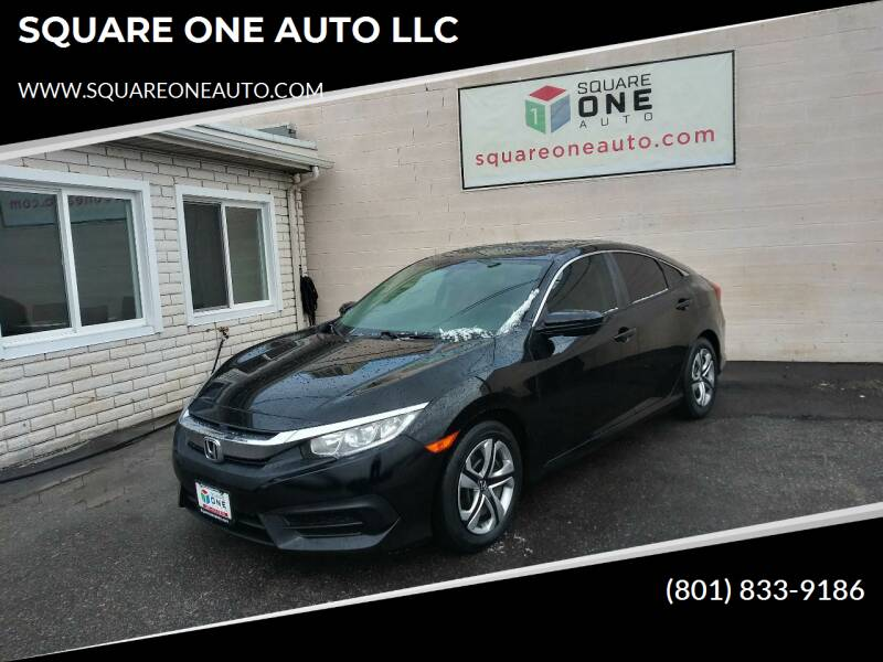 2016 Honda Civic for sale at SQUARE ONE AUTO LLC in Murray UT