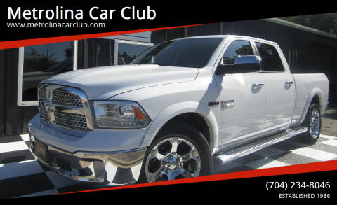 2015 RAM Ram Pickup 1500 for sale at Metrolina Car Club in Matthews NC