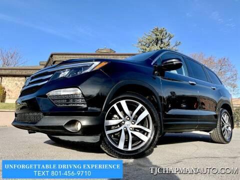 2016 Honda Pilot for sale at TJ Chapman Auto in Salt Lake City UT