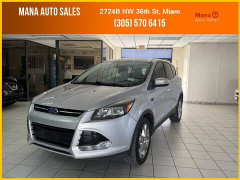 2013 Ford Escape for sale at MANA AUTO SALES in Miami FL