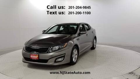 2015 Kia Optima for sale at NJ State Auto Used Cars in Jersey City NJ