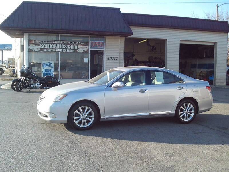 2011 Lexus ES 350 for sale at Settle Auto Sales TAYLOR ST. in Fort Wayne IN