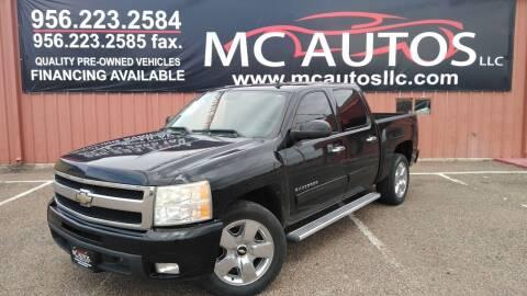 2011 Chevrolet Silverado 1500 for sale at MC Autos LLC in Pharr TX