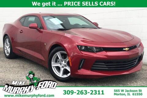 2016 Chevrolet Camaro for sale at Mike Murphy Ford in Morton IL