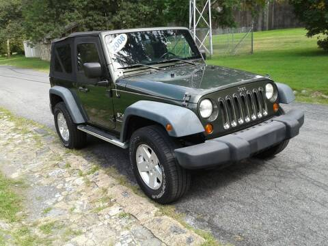 2008 Jeep Wrangler for sale at ELIAS AUTO SALES in Allentown PA