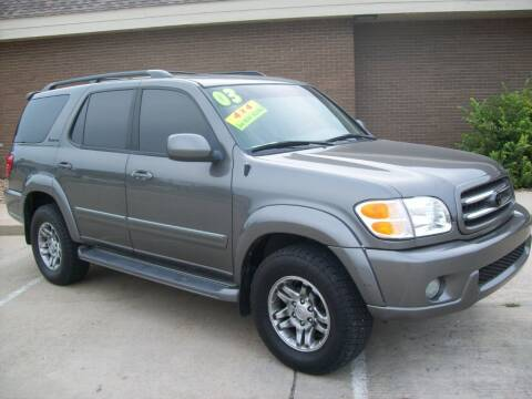2003 Toyota Sequoia for sale at Cliff Bland & Sons Used Cars in El Dorado Springs MO