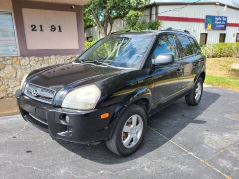 2006 Hyundai Tucson for sale at CAR-RIGHT AUTO SALES INC in Naples FL