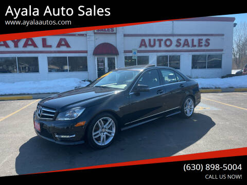 2014 Mercedes-Benz C-Class for sale at Ayala Auto Sales in Aurora IL