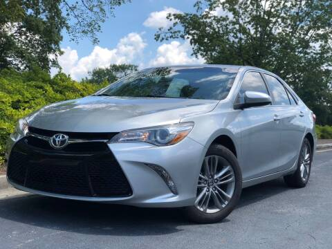 2017 Toyota Camry for sale at William D Auto Sales in Norcross GA