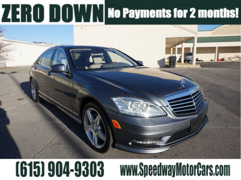 2011 Mercedes-Benz S-Class for sale at Speedway Motors in Murfreesboro TN