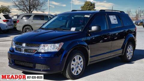 2020 Dodge Journey for sale at Meador Dodge Chrysler Jeep RAM in Fort Worth TX