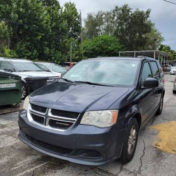 2013 Dodge Grand Caravan for sale at America Auto Wholesale Inc in Miami FL