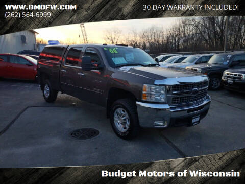 2008 Chevrolet Silverado 2500HD for sale at Budget Motors of Wisconsin in Racine WI