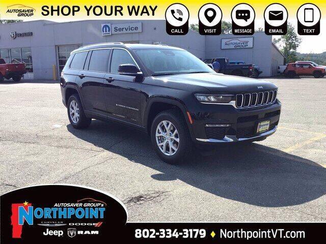 2021 Jeep Grand Cherokee L for sale in Newport, VT
