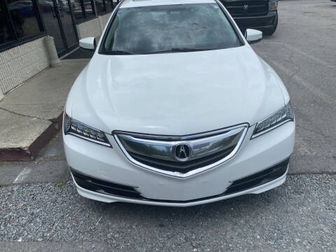 2016 Acura TLX for sale at J Franklin Auto Sales in Macon GA