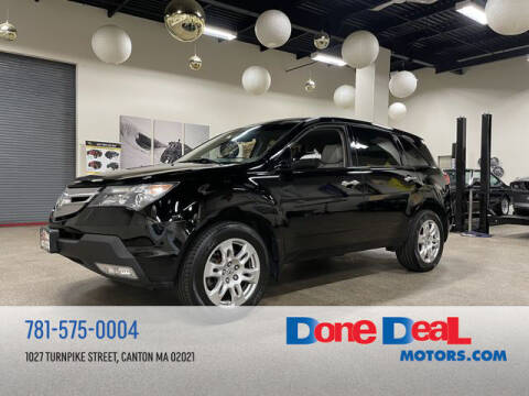 2009 Acura MDX for sale at DONE DEAL MOTORS in Canton MA