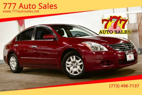 2012 Nissan Altima for sale at 777 Auto Sales in Bedford Park IL