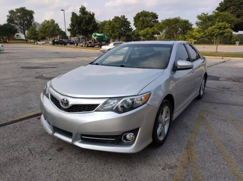 2012 Toyota Camry for sale at Sphinx Auto Sales LLC in Milwaukee WI