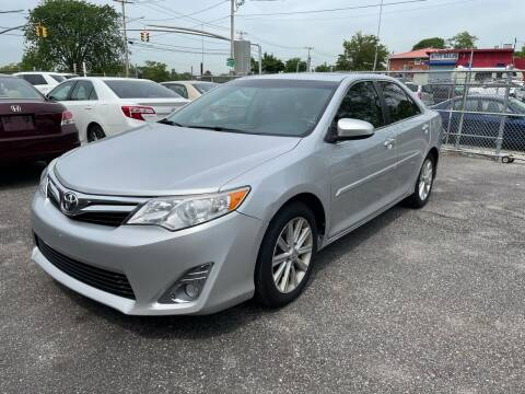 2013 Toyota Camry for sale at American Best Auto Sales in Uniondale NY