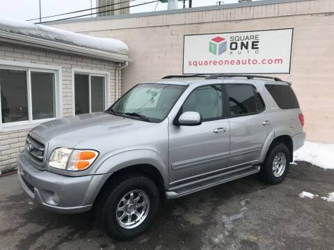 2002 Toyota Sequoia for sale at SQUARE ONE AUTO LLC in Murray UT