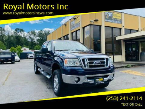 2007 Ford F-150 for sale at Royal Motors Inc in Kent WA