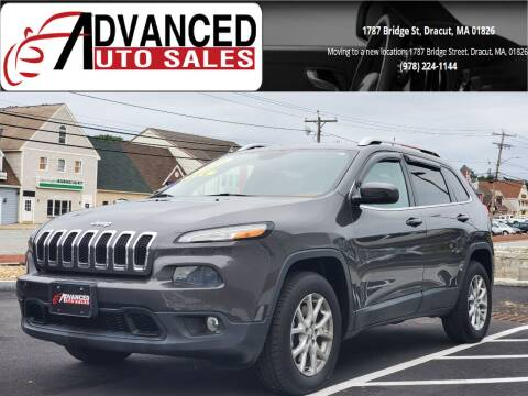 2014 Jeep Cherokee for sale at Advanced Auto Sales in Dracut MA