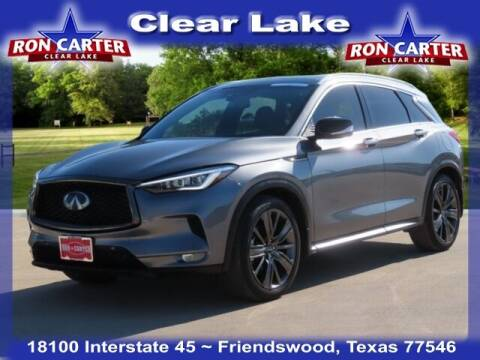 2020 Infiniti QX50 for sale at Ron Carter  Clear Lake Used Cars in Houston TX
