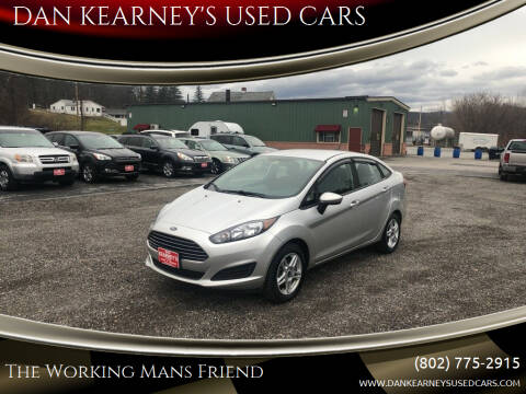 2019 Ford Fiesta for sale at DAN KEARNEY'S USED CARS in Center Rutland VT