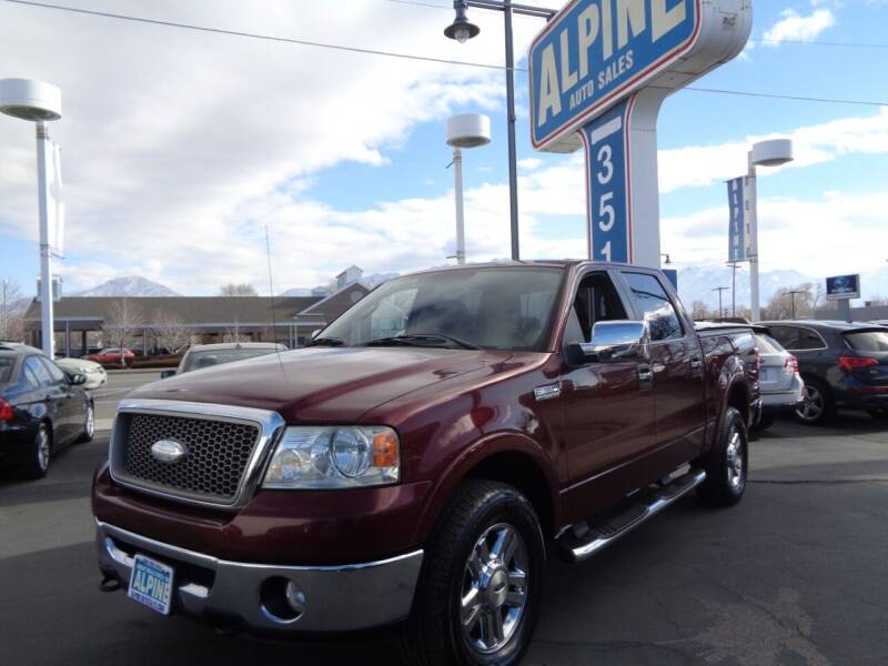 2006 Ford F-150 for sale at Alpine Auto Sales in Salt Lake City UT