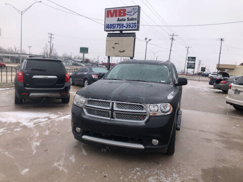 2013 Dodge Durango for sale at MB Auto Sales in Oklahoma City OK