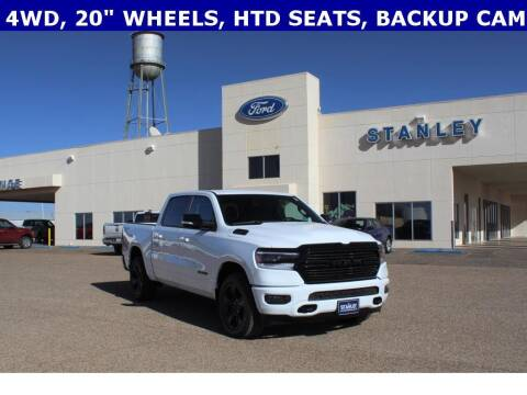 2021 RAM Ram Pickup 1500 for sale at STANLEY FORD ANDREWS in Andrews TX